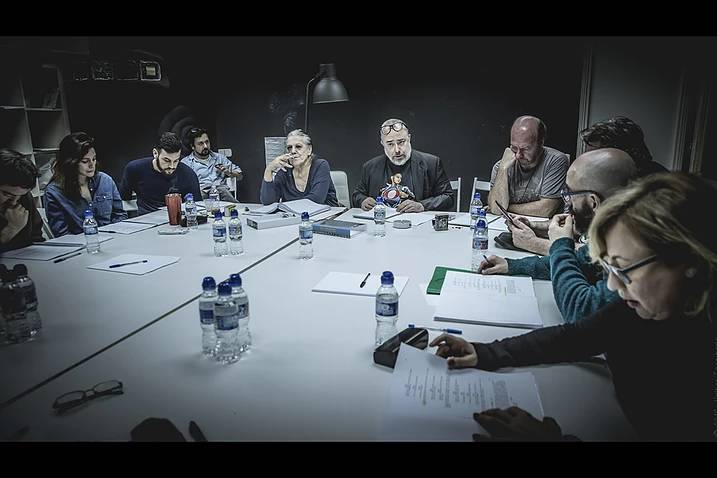 Álex de la Iglesia inicia el rodaje de su nueva película, 'El bar'